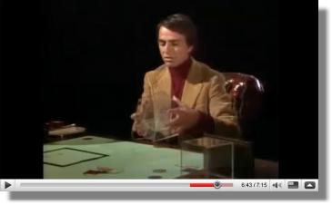 Carl Sagan 4th Dimension Explanation